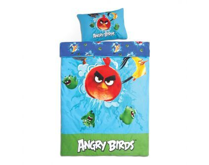 ANGRY BIRDS Voodipesukomplekt